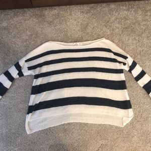 Hollister crop sweater